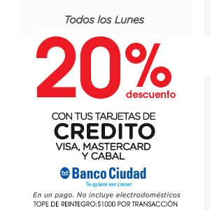 f14bb423a Coto Digital · 15% descuento TCI 20% con crédito Banco Ciudad Lunes ...