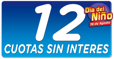 12 cuotas sin interés